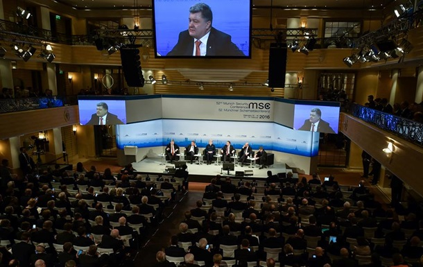 Порошенко обратился к Путину в Мюнхене