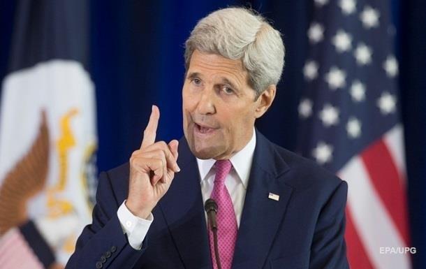 Керри напомнил Киеву об обязательствах по Минску