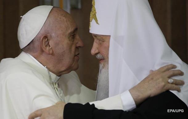 Папа Римский рассказал о разговоре с Кириллом