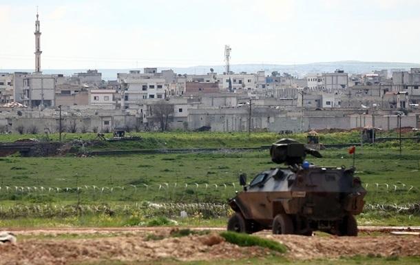 Турция обстреляла курдские позиции в Сирии