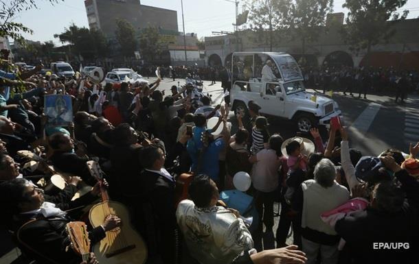 В Мехико на встречу с Франциском пришли более 200 тысяч человек