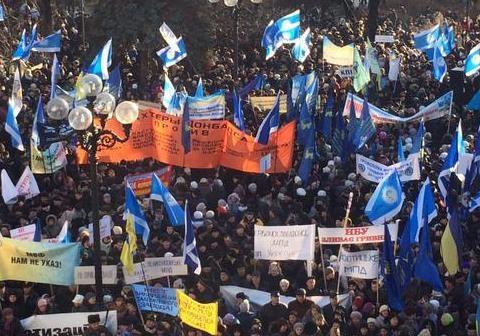 На улицы Киева выйдут 4 тысячи полицейских и военных и установят металлоискатели