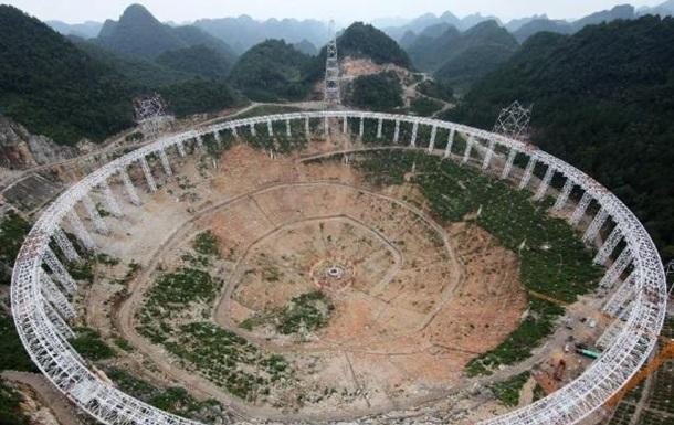 Тысячи китайцев переселят из-за строительства телескопа
