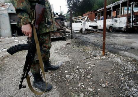 У Києві знайдено чотири схрони зі зброєю