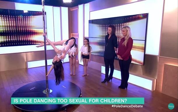 Танцующие на шесте восьмилетние дети шокировали Британию