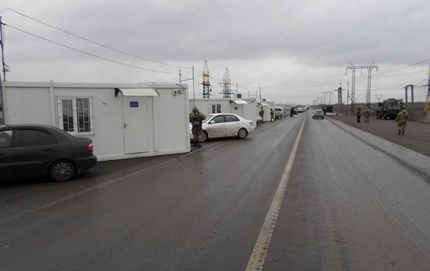 Пункт пропуска Марьинка закрыли из-за обстрелов