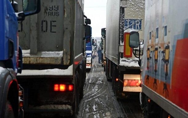 На Чернігівщині припиняють блокаду російських фур