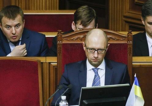 Нардепы требуют переголосования за отставку Яценюка