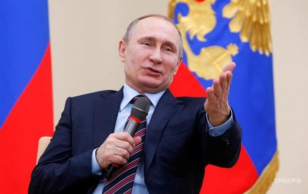 Путин: Мяч по выполнению Минска-2 на стороне Киева