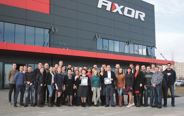 Фурнитура AXOR получила почетное звание  Лидер отрасли 2015