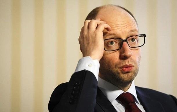 Яценюк отреагировал на развал коалиции в Раде