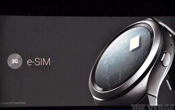 Розумний  годинник Samsung першим обладнають eSIM-картою