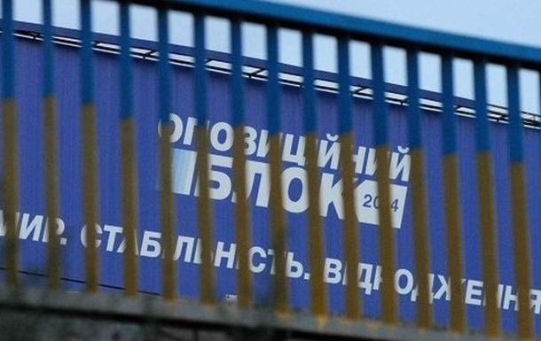 «Оппозиционный Блок» повторяет путь КПУ