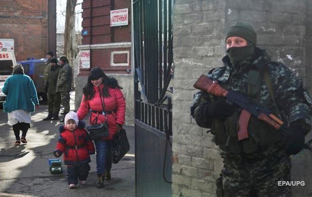 От конфликта в Украине пострадали 580 тысяч детей