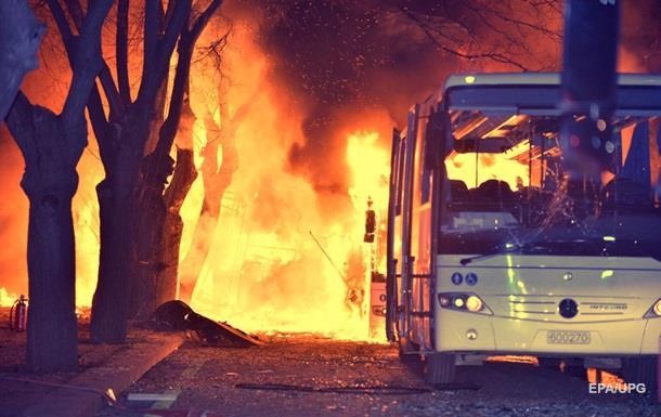 Курдская группировка TAK взяла ответственность за взрыв в Анкаре