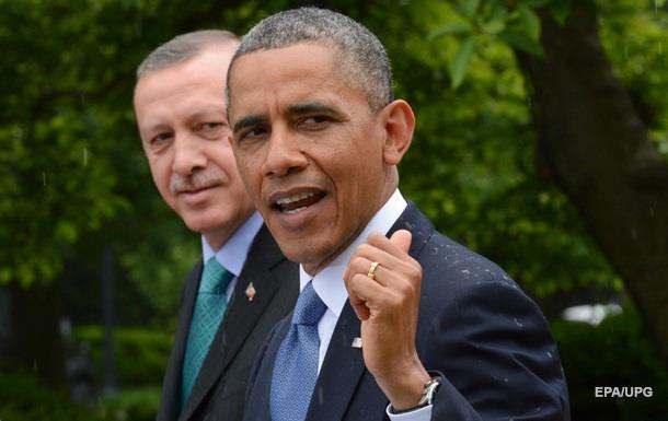 Обама-Эрдогану: У Анкары есть право на самооборону