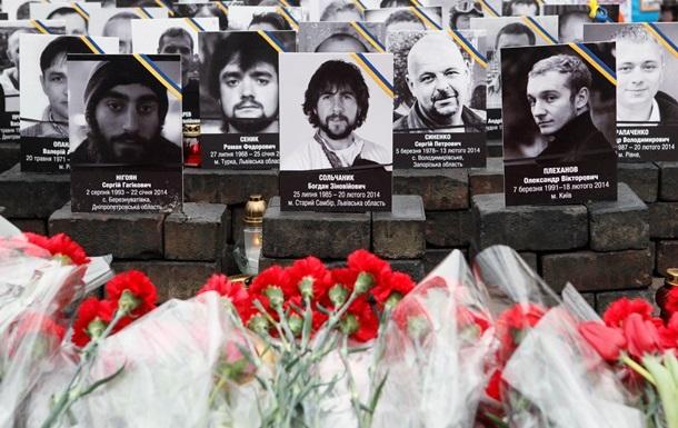 Украина отмечает день памяти Небесной сотни