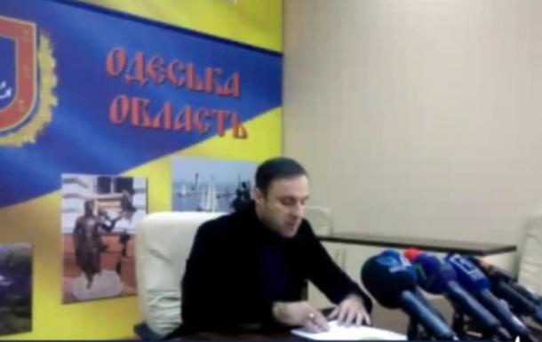Глава Одесской полиции заявил о давлении на него