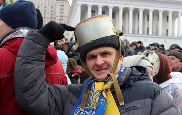 Пук на Майдане