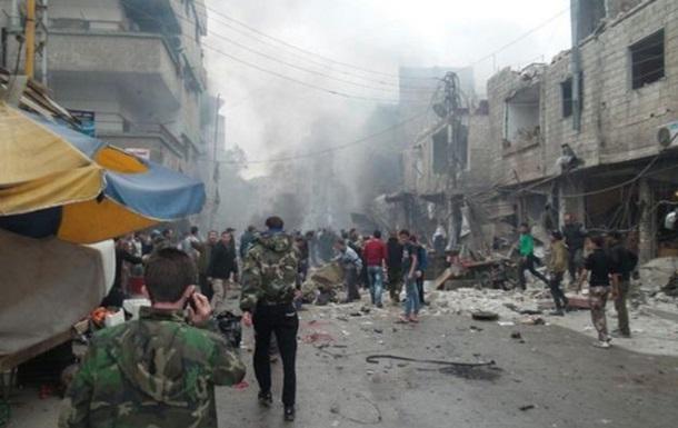 Серия взрывов в Дамаске: есть жертвы