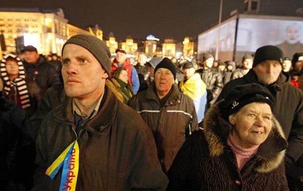 Вече на Майдане: активисты выдвинули требования