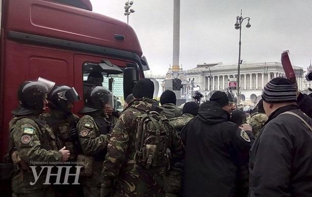 Полиция рассказала об утренней стычке на Майдане