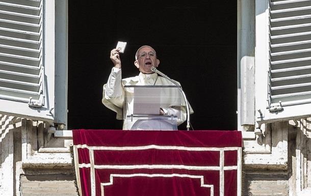 Папа Римский призвал к отмене смертной казни во всем мире
