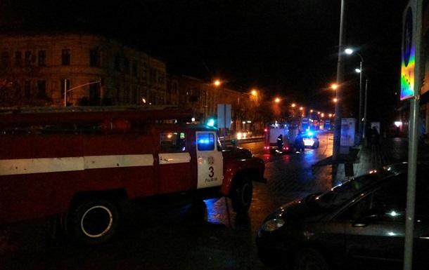 Во Львове ночью горело отделение ВТБ Банка