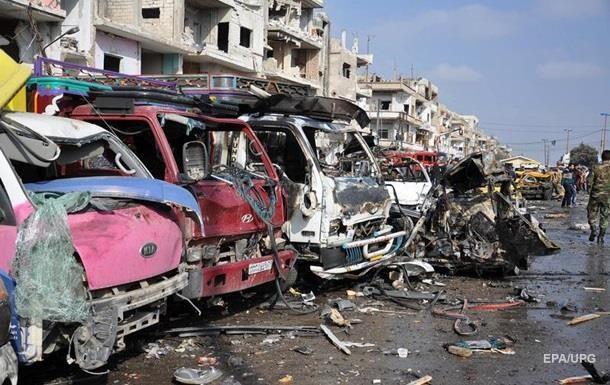 Жертвами терактов в Хомсе и Дамаске стали 155 человек