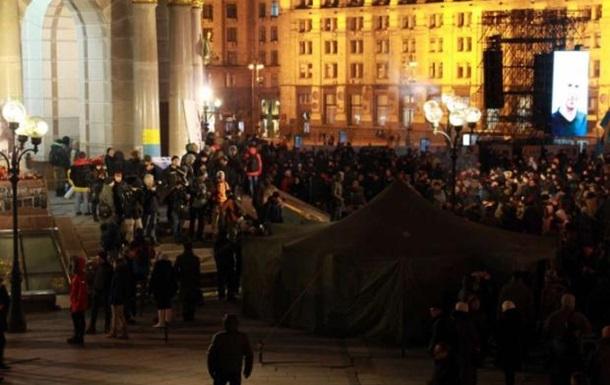 На Майдане созывают новое вече