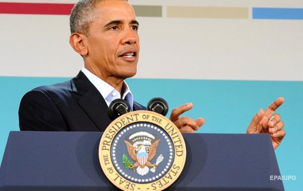 Обама призвал Путина соблюдать Минские соглашения