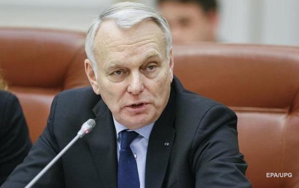 Глава МИД Франции в Киеве дал советы по реформам