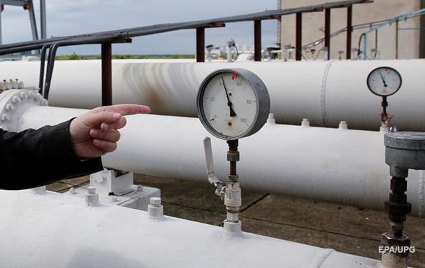 Украина сократила потребление газа на треть