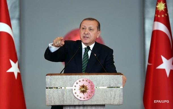 Эрдоган раскритиковал перемирие в Сирии