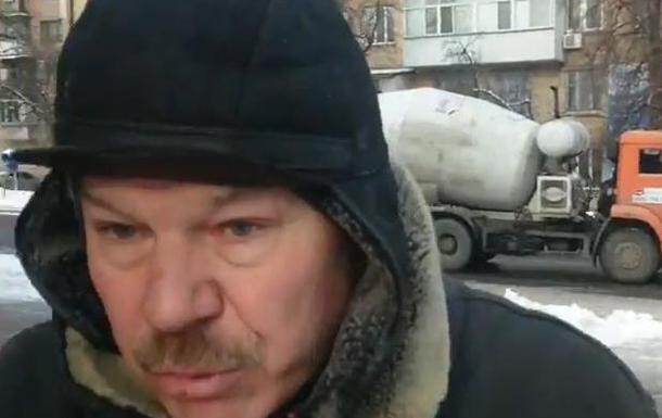 Нападение на представителя ЖК Берген (хулиганство и хамство протестующих)
