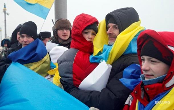 Почти половина украинцев считают себя европейцами – опрос
