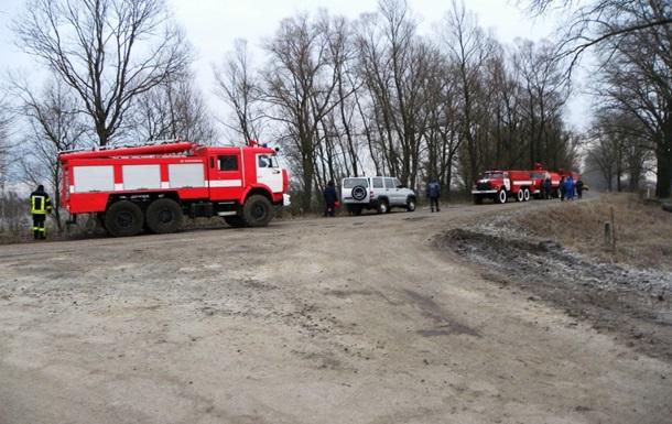 На Черниговщине произошла авария на газовой скважине