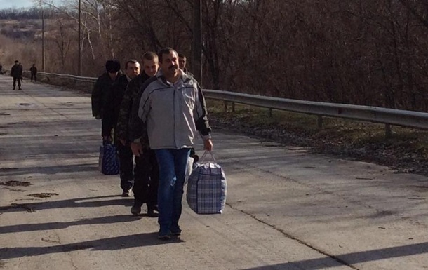 Геращенко разместила фото обмена пленными с ЛНР