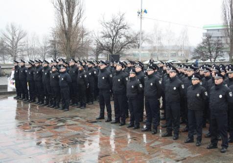 Патрульна поліція починає працювати в Кременчуці
