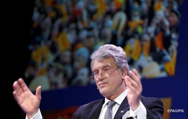 Ющенко о революции: Чувствую запах горящих шин