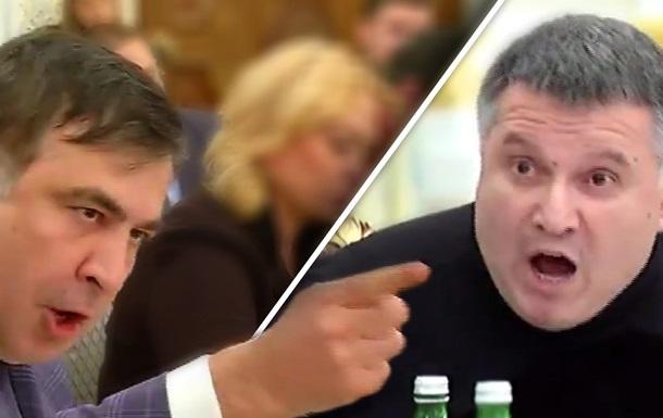Яценюк VS Саакашвили: элитарный бой псевдоораторов