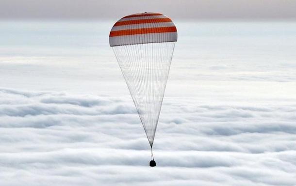 Екіпаж  Союз ТМА-18М  успішно приземлився в Казахстані