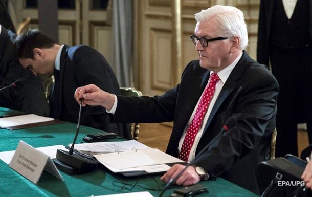 Глава МЗС ФРН незадоволений тим, як Київ і Москва проводять переговори