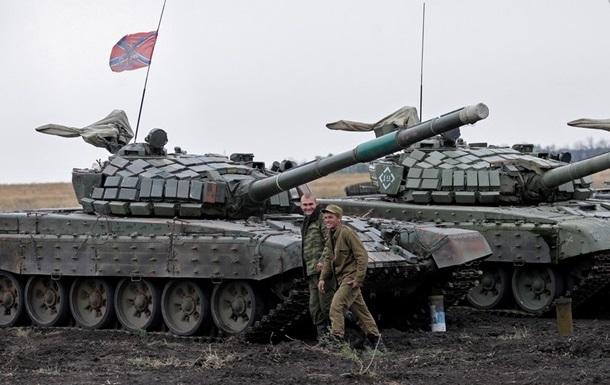 ОБСЕ: Сепаратисты проводят учения на Донбассе