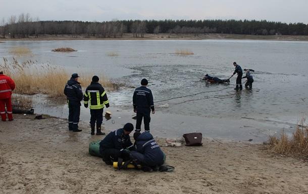 В Киеве утонул мужчина, пытаясь спасти собаку