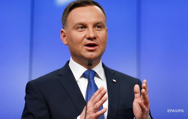 Президент Польши попал в ДТП
