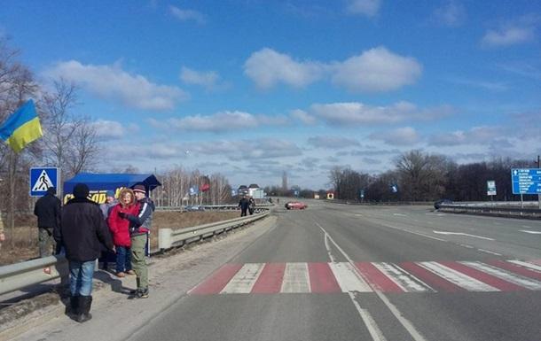Активисты Сумщины заявили о блокаде фур РФ