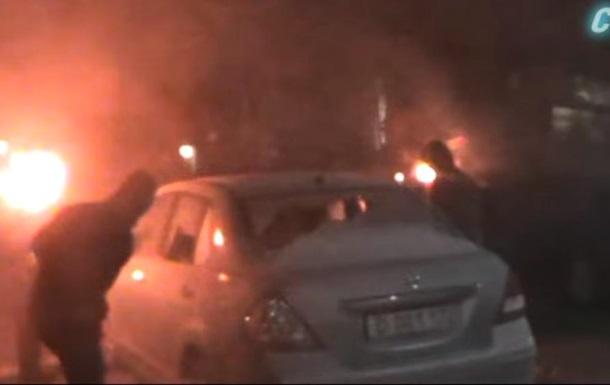 У поліції розповіли про напад на посольство РФ