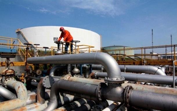 Украина сократила отбор газа почти втрое