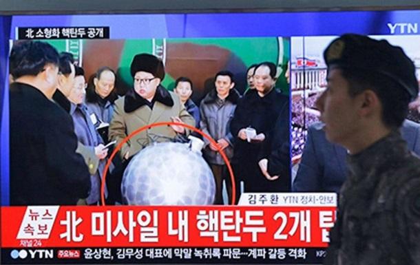 КНДР впервые показала ядерную боеголовку